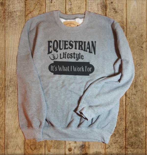 Equestrian Lifestyle Sweatshirt