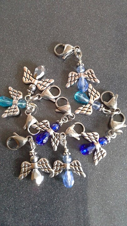 Guardian Angel bridle charms