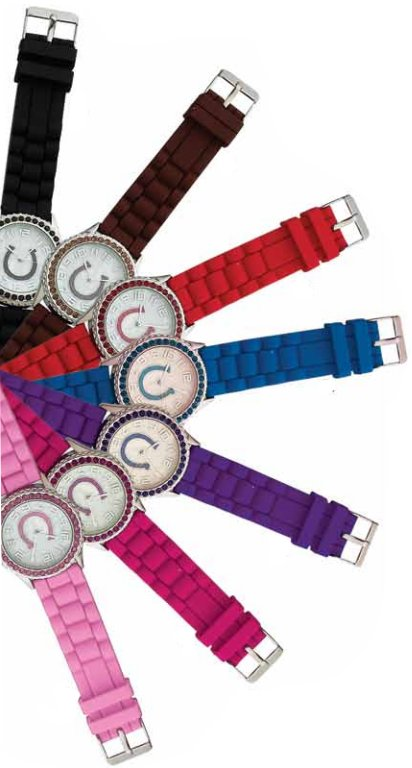 AWST Rhinestone Horseshoe Watch