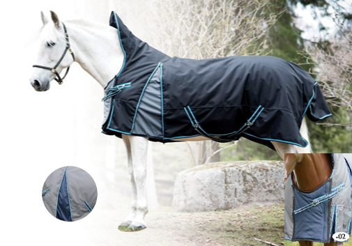 Century 1200D Freedom Winter Turnout Blanket
