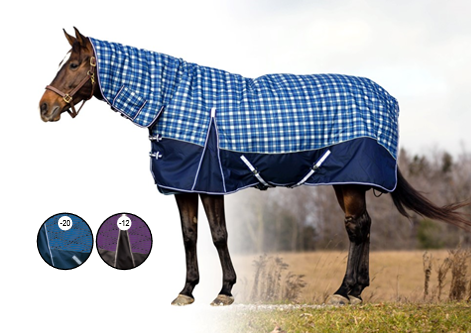 Century Ultra 1200D Combo Full Neck Winter Turnout