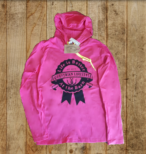 Equestrian Lifestyle Hooded Tee