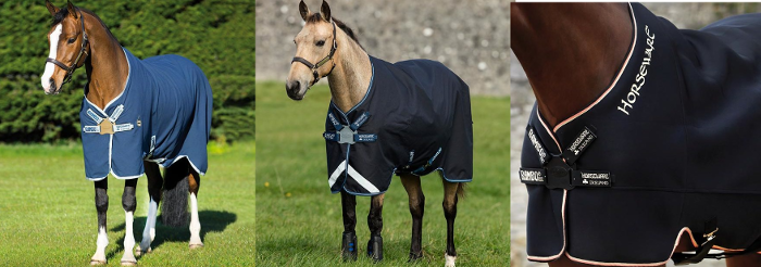 The Horseware Disc Closure System examples