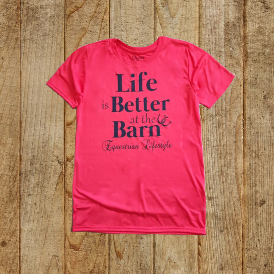 Equestrian Lifestyle Life is Better at the Barn