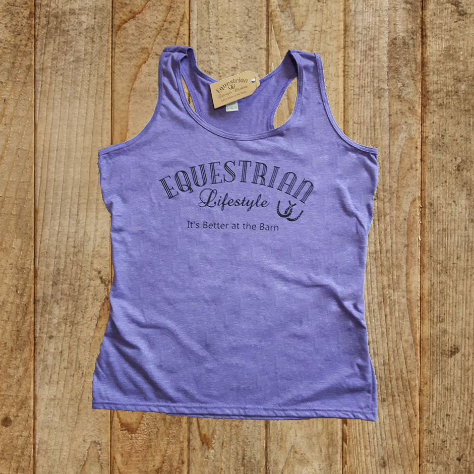 Equestrian Lifestyle Racerback Tank Top