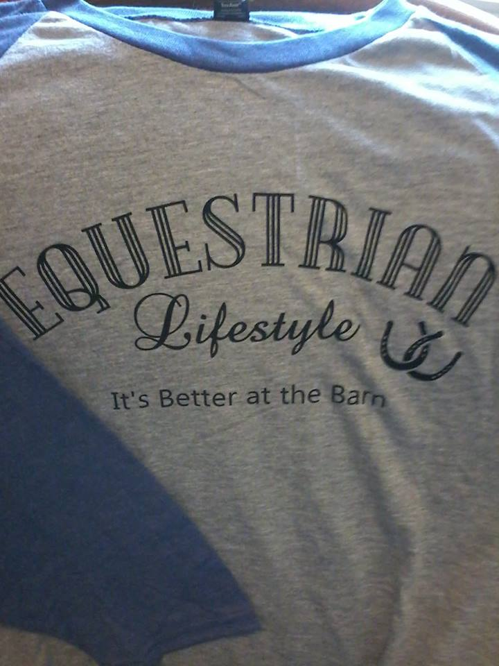 Equestrian Lifestyle Phrase