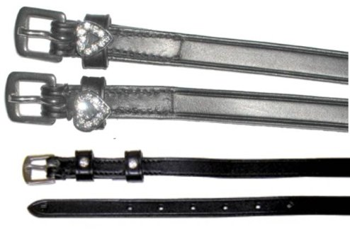 Exselle Fancy Leather Spur Straps