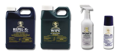 Farnam Fly Control Products: wipe repel x bronco roll on