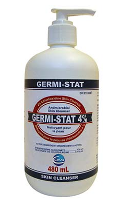 GermStat 4% Cleanser/Scrub chlorhexidene