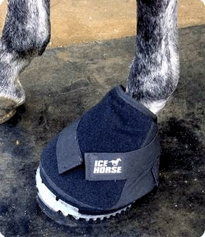 ice horse big black boot