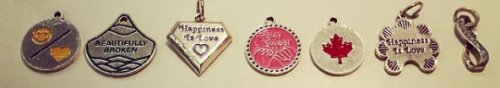 luv inspired bridle charms