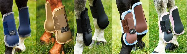 Norton Hard Shell Tendon/Fetlock Boot Fleece Lining