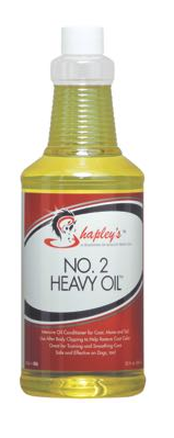 No. 2 Heavy Oil shapleys