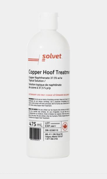 Copper Hoof Treatment