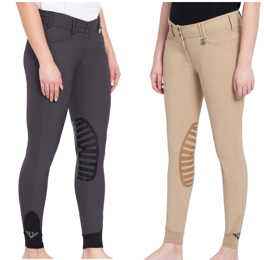 Tuff Rider Ladies Element Knee Patch Breech