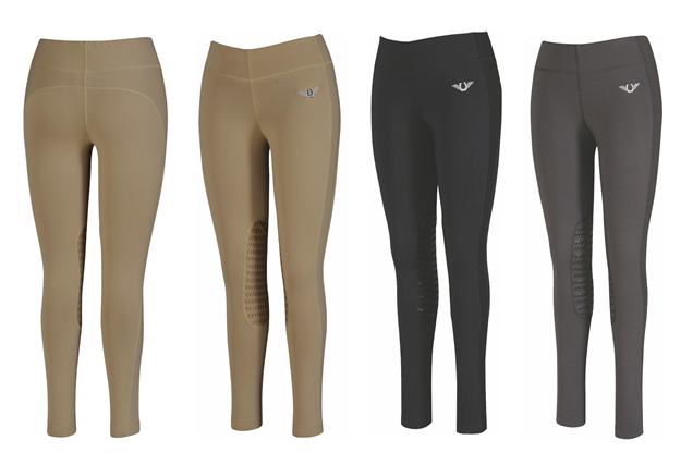 Tuff Rider Ladies Ventilated Schooling Tights