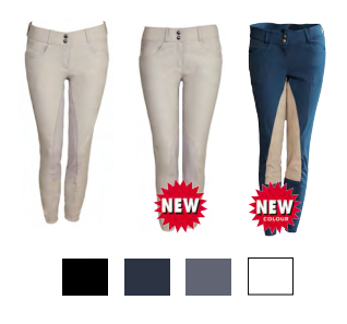Ladies Tuscany Premium Pearl Breeches