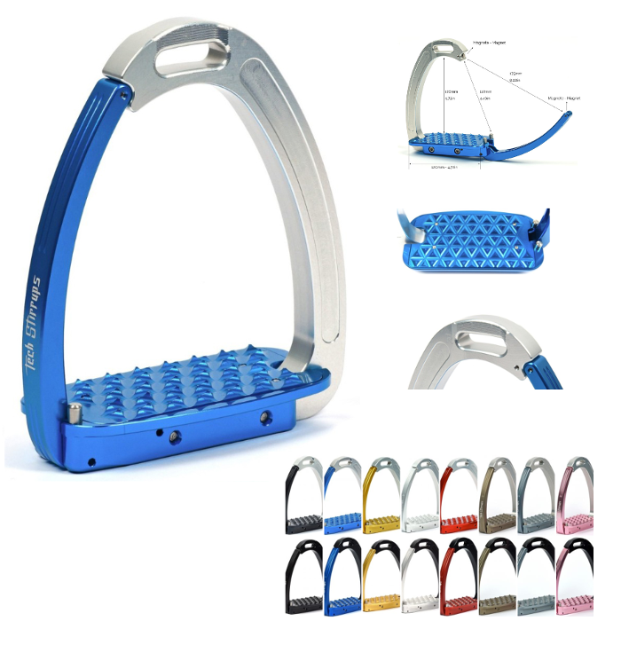 Venice Security Jumping/ Cross Country Stirrups