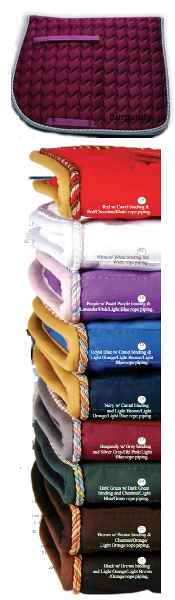 Century Trendsetter Saddle Pads all purpose and dressage
