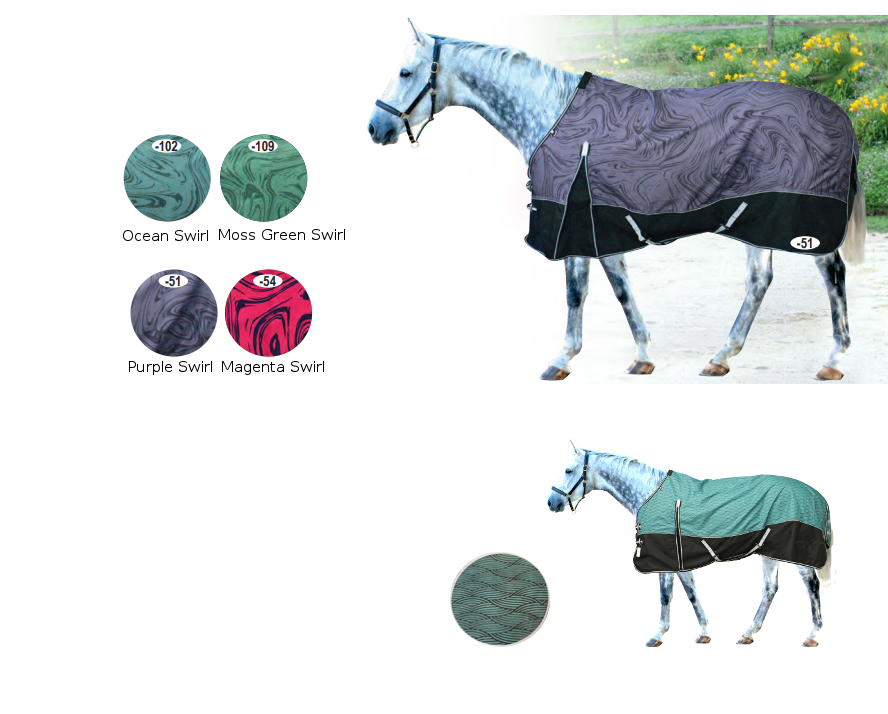 Century Ultra 1200D Summer Turnout with  Easy Move Gullet Swirl & Wave Patterns
