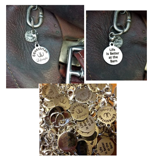 Equestrian Lifestyle Charms Life is better at the barn