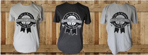 Equestrian lifestyle shirts