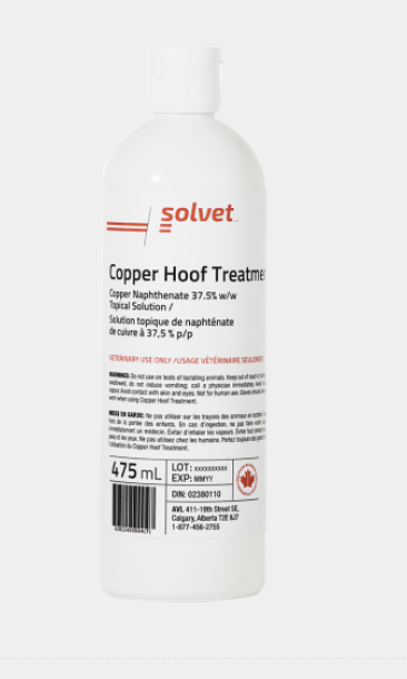 Copper Hoof Treatment
